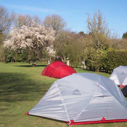 Hawthorn Farm, Camping and Caravanning, Deal, Kent