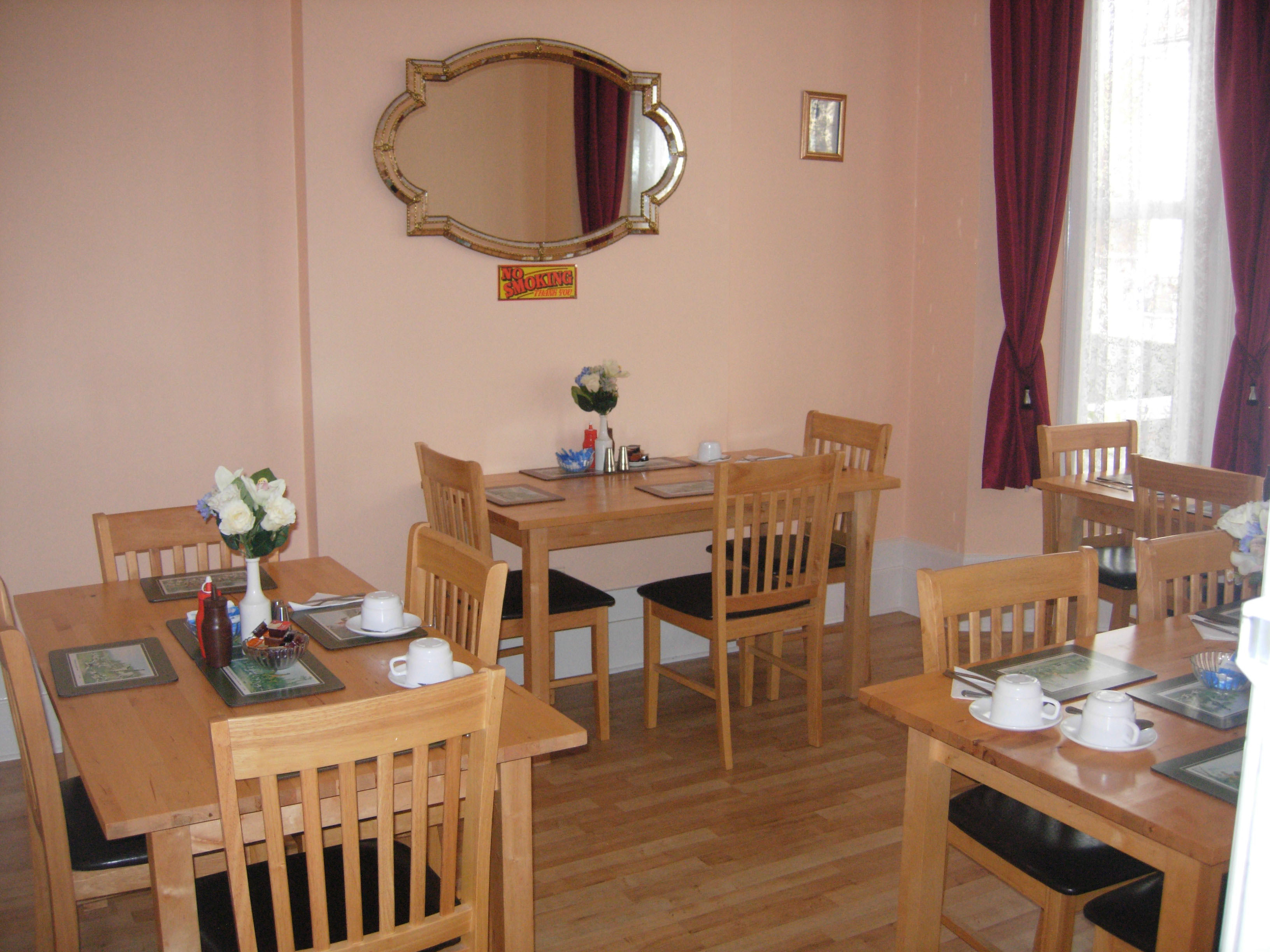 Longfield Guest House, Guest House, Dining Room, Dover, Kent