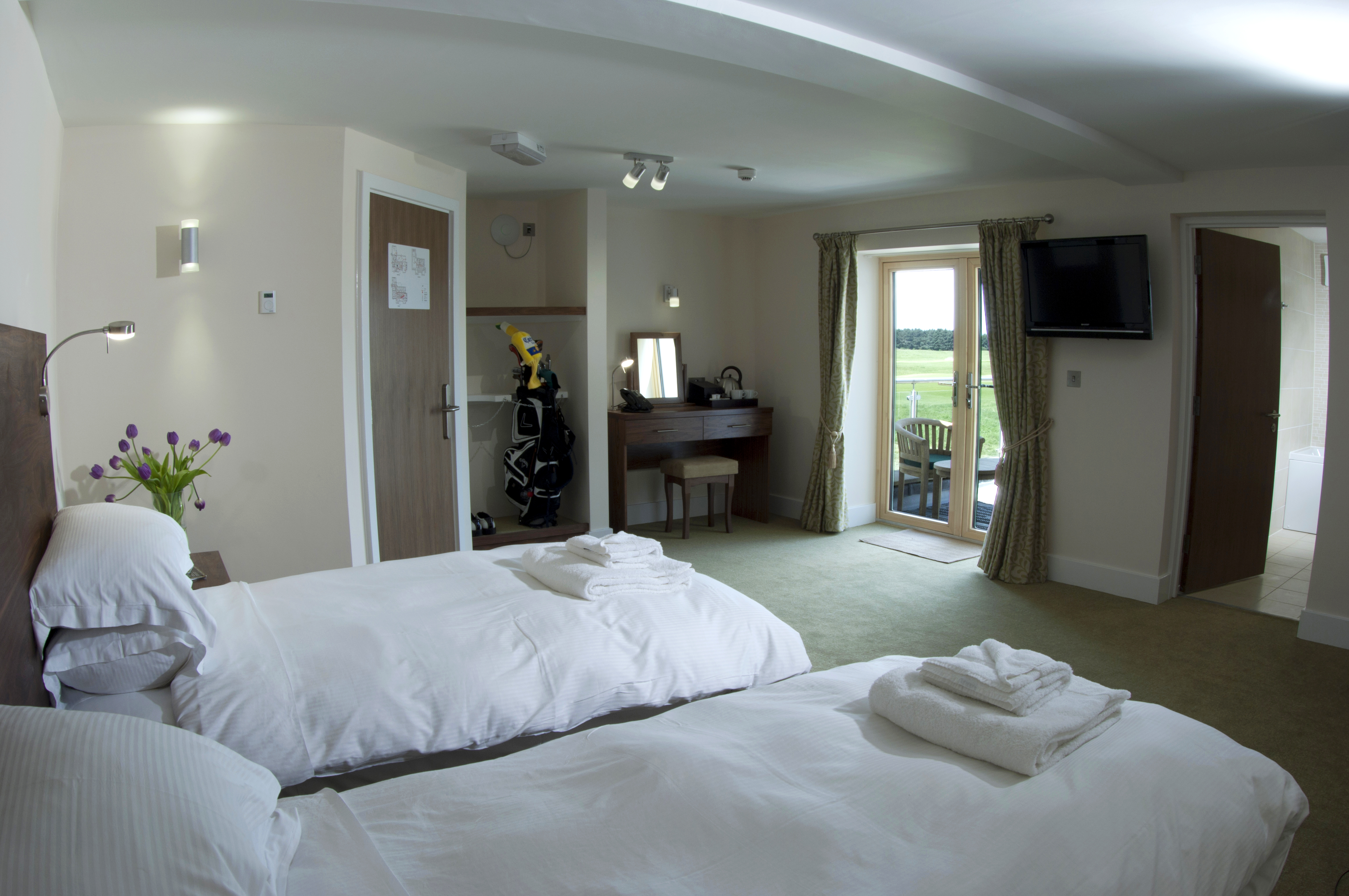 The Lodge at Prince's, Prince's Golf Club, Sandwich, accommodation,
