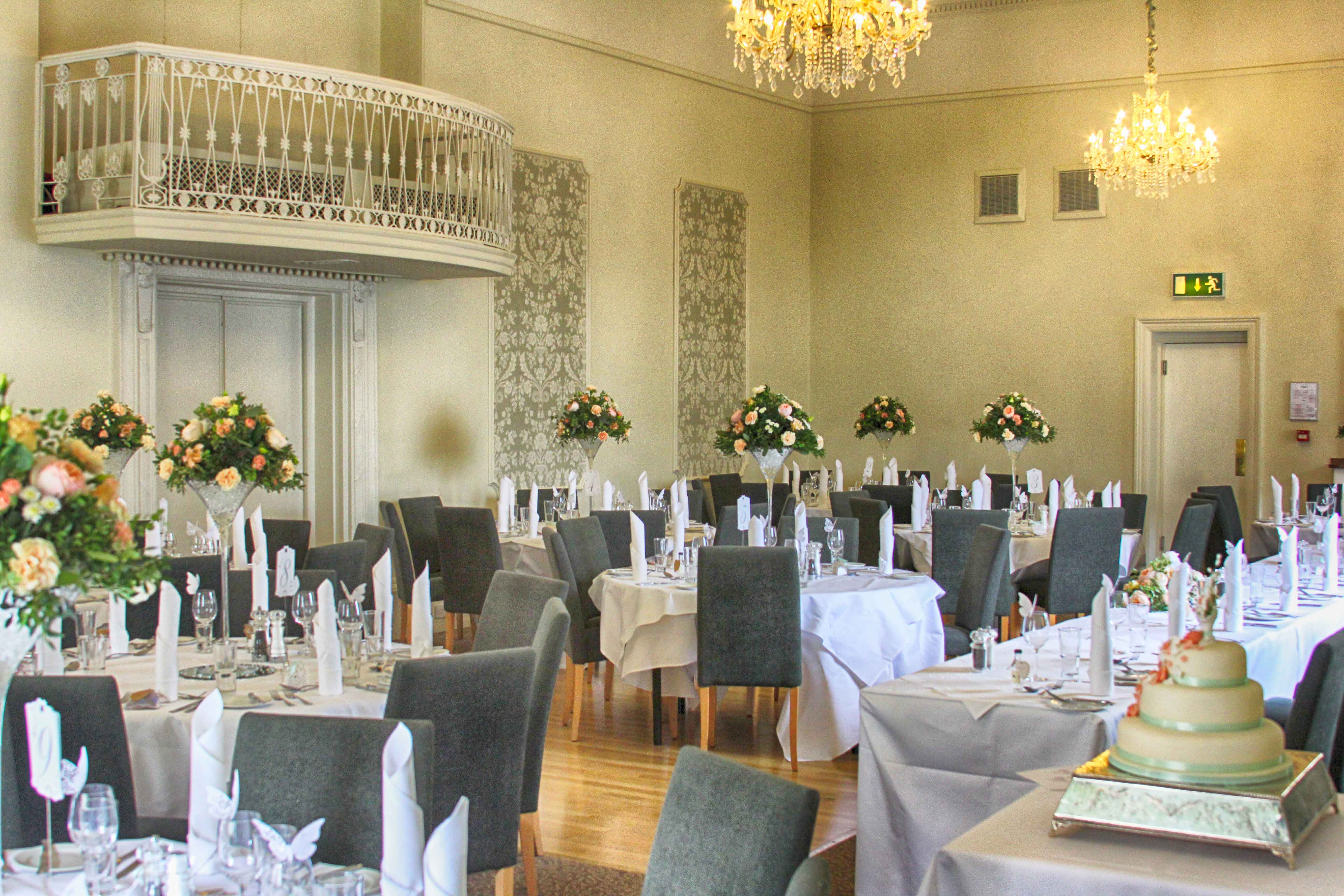 Wedding venue at the Bell Hotel in Sandwich