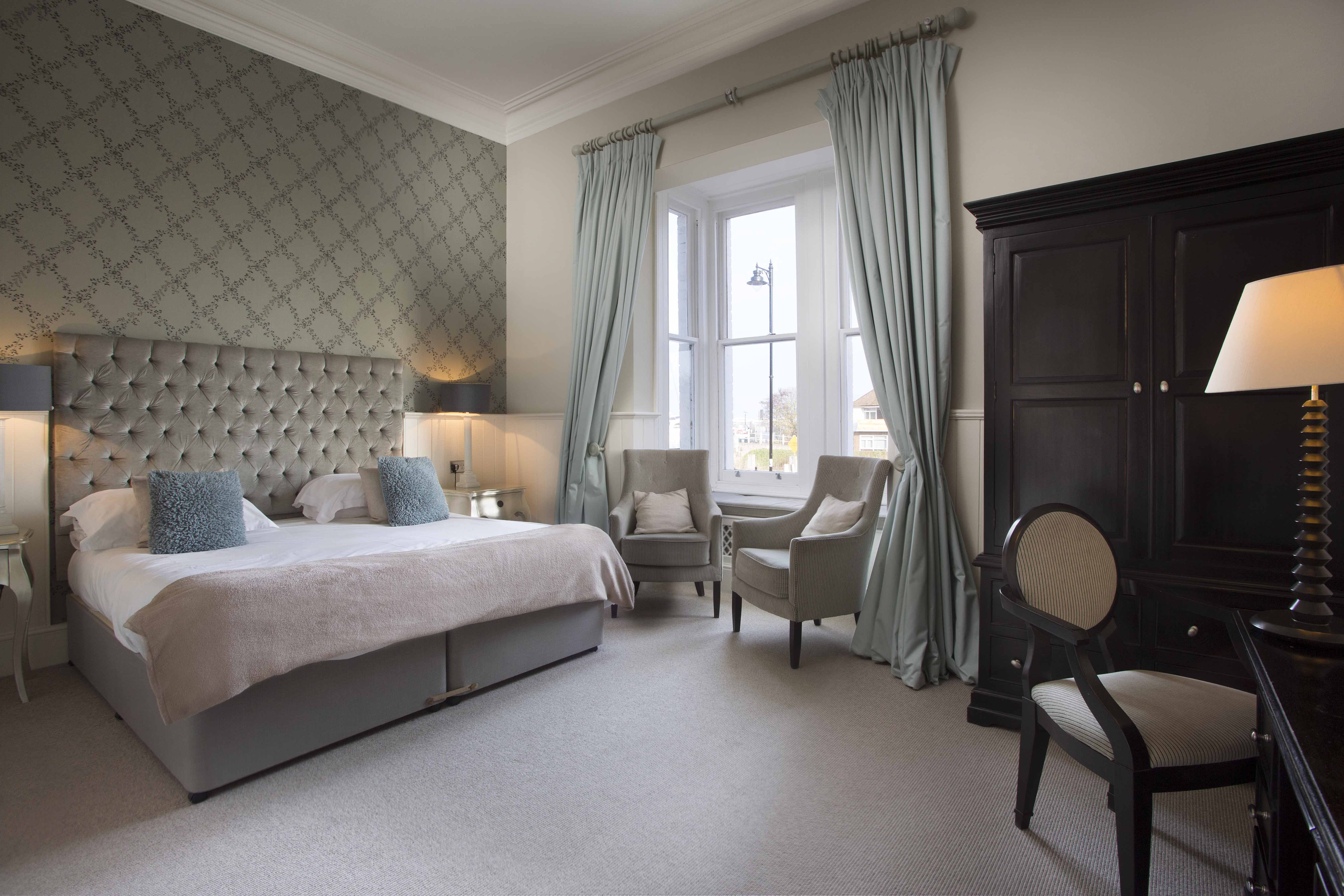 Luxury double room at the Bell Hotel in Sandwich