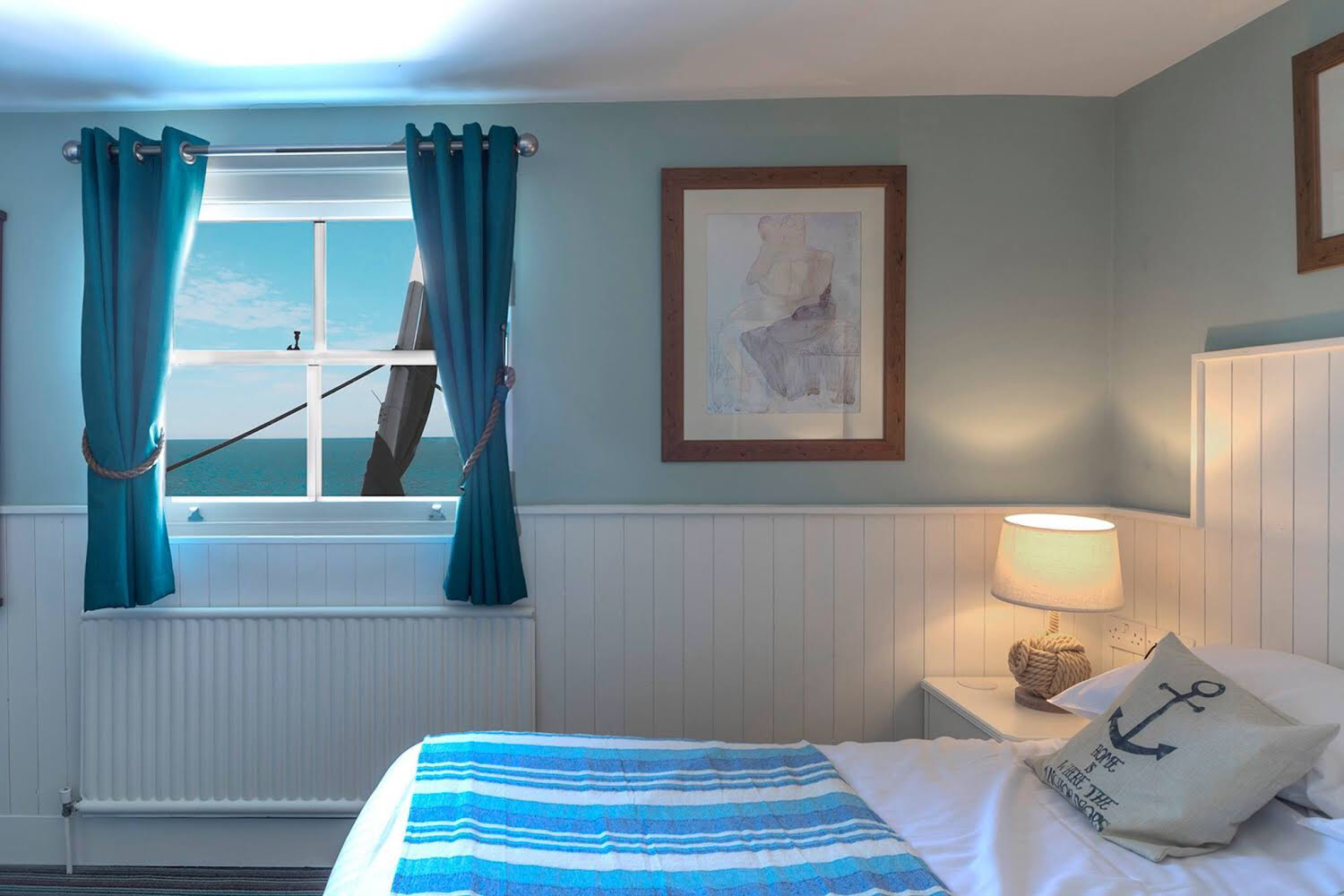 The Clarendon Hotel, Deal, seafront location, sea views