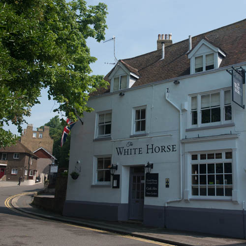 The White Horse, traditional pub, Dover, Kent