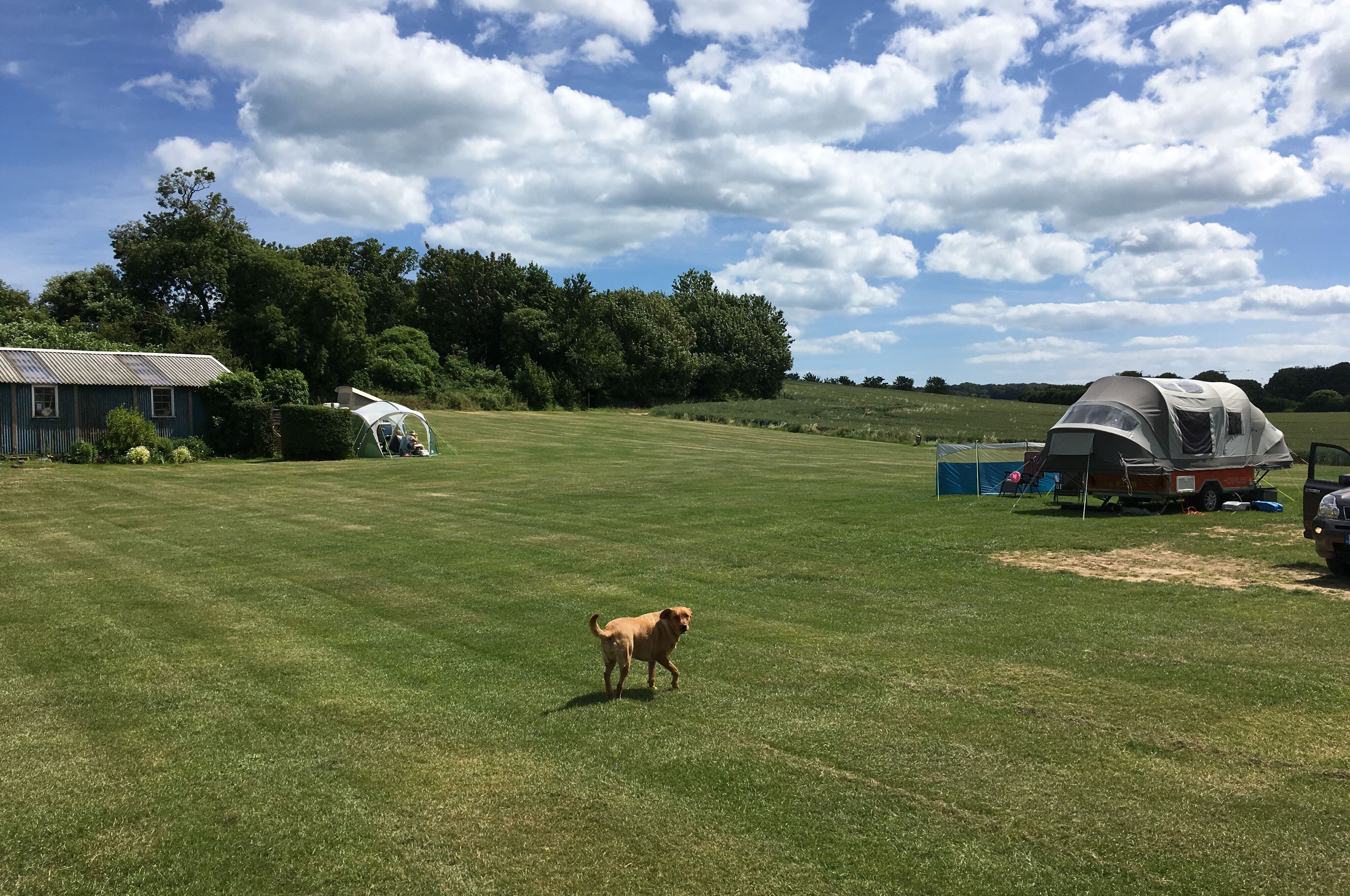 Solley's Campsite, Deal, Ripple, Camping, Kent