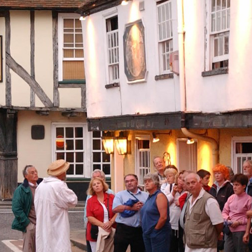 Sandwich Town Tours, guided tours,