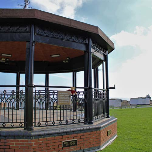 Deal Memorial Bandstand, Walmer Green, Deal, concerts