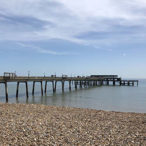Deal Pier, beach, fishing, Deal, Kent