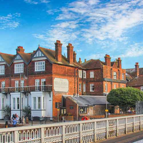 The Bell Hotel, restaurant, bar, Sandwich, Kent