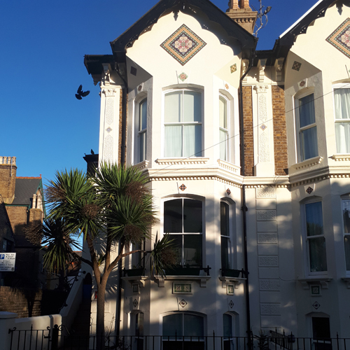 Number One B&B in Deal, exterior view