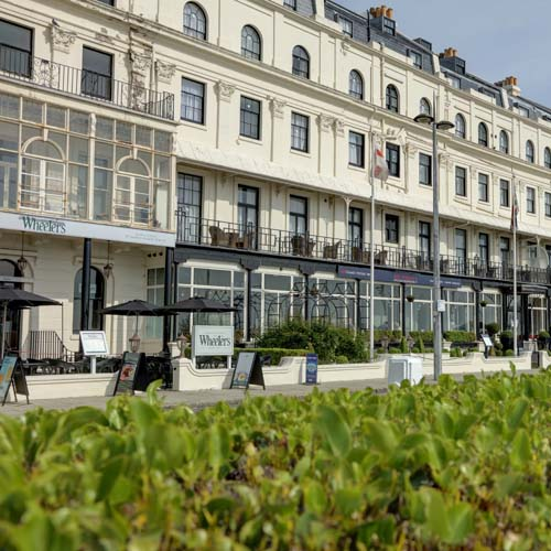 Best Western Plus Dover Marina Hotel & Spa, Waterfront Cafe, Dover, Seafront, exterior view