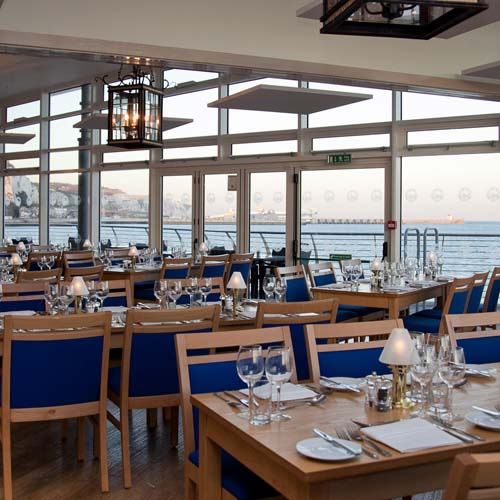 The Dover Patrol Restaurant and Bar, Sea view, place to eat and drink, Kent