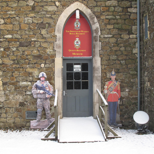 Princess of Wales's Royal Regiment and Queen's Regiment Museum, Dover castle, Museum, Dover, Kent