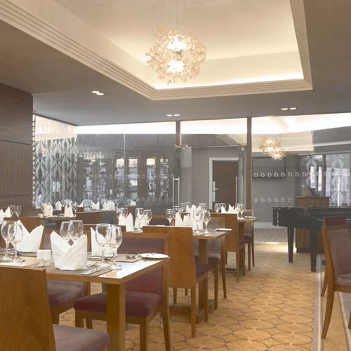 The Olive Tree Restaurant, Leaf Hotel Dover, dining area,