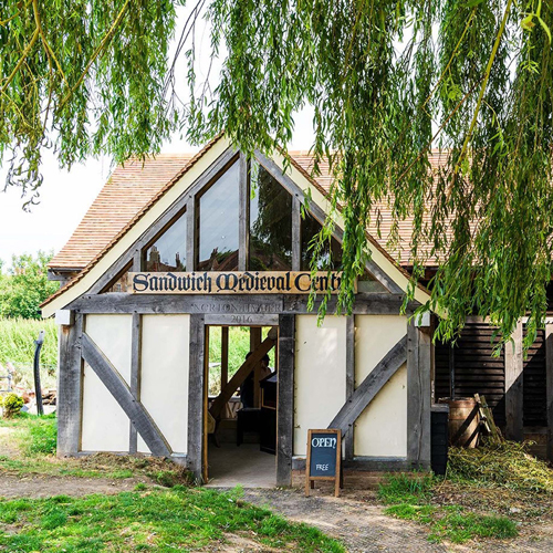 Sandwich Medieval Centre, Timber built building, Sandwich, Kent