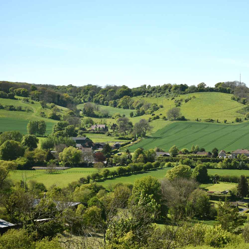 Alkham valley, Valleys and Downs, Countryside, Dover, Kent