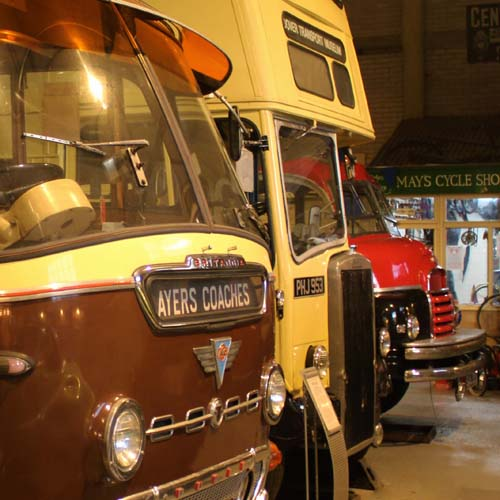Dover Transport Museum, Buses, Dover, Kent