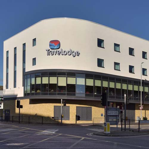 Travelodge Dover, budget hotel, double room, St James Retail & Leisure Park
