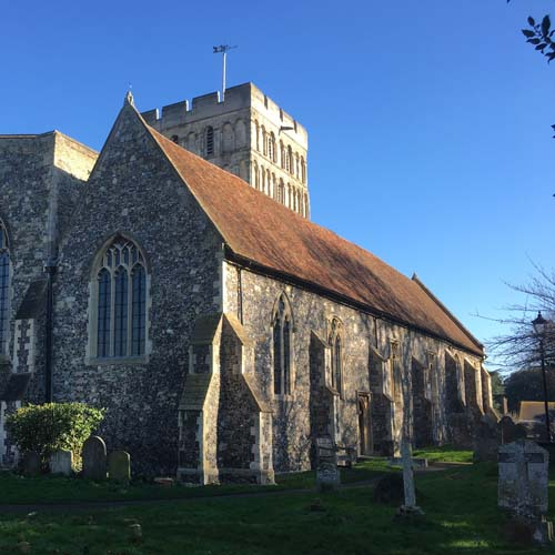 St Clement's Church, Sandwich, Kent