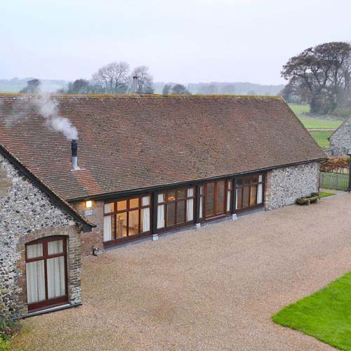 St Radigund's Abbey, converted barn, self catering accommodation, Dover