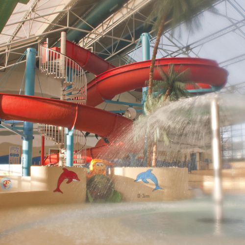 Tides leisure centre, swimming pool, family friendly, flume, leisure pool with waves, fun water features, giant slide